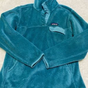 Patagonia ReTool Blue Sweater Size Small